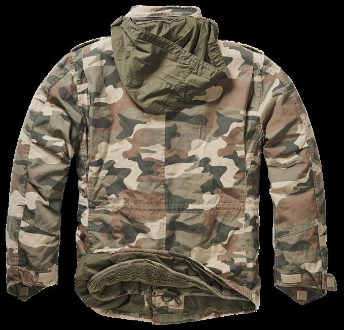 NŐI M65 VINTAGE KATONA NADRÁG Brandit Fekete | Army Shop